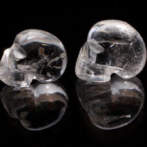 Кристален череп малък от miteviminerals
