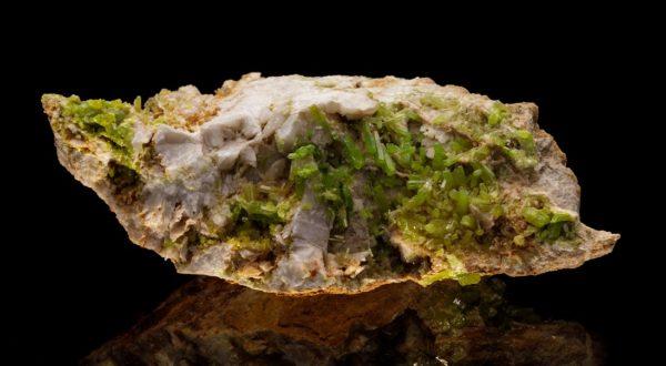 Пироморфит друза - miteviminerals